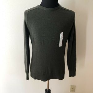 Goodfellow olive green sweater - mens M - NWT
